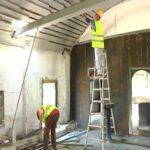 Obnova crkve brvnare 1 nn
