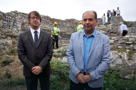 Отпочели су радови на конзервацији средњовековних зидина у Ужицу