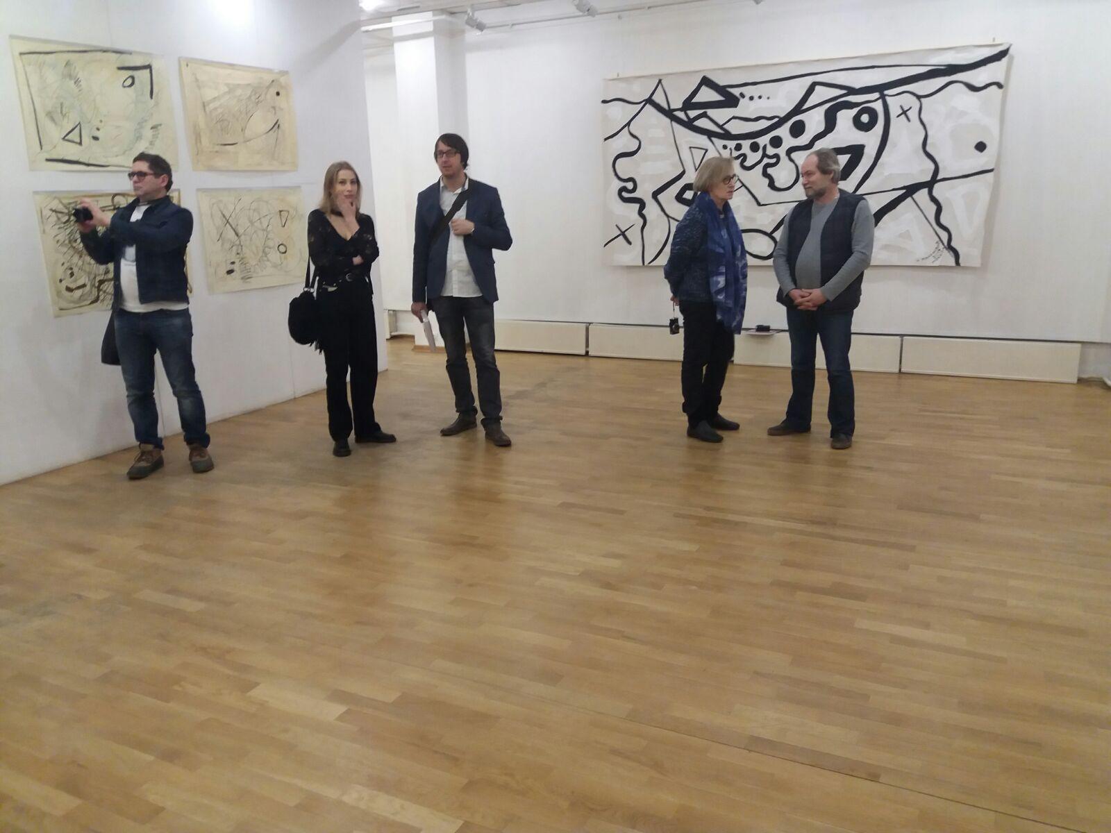 "У Москви је отворена српско-руска изложба под називом ,,Взаимодействие структур"""